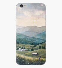 Mountain Valley Farm iPhone Case