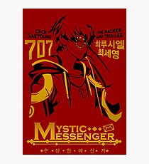 Mystic Messenger - 707 Photographic Print