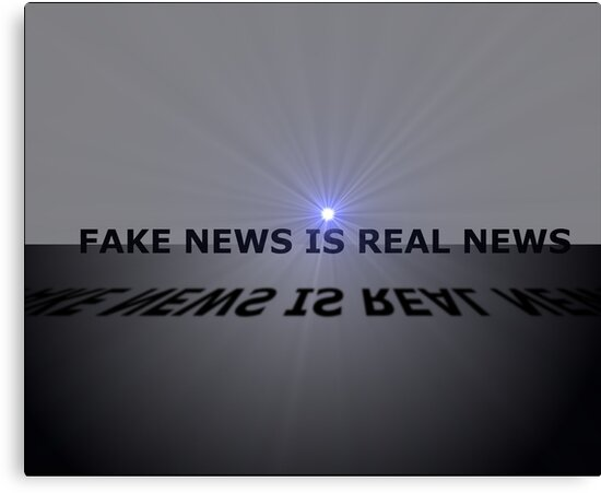 FAKE NEWS=REAL NEWS by OzoneWear737