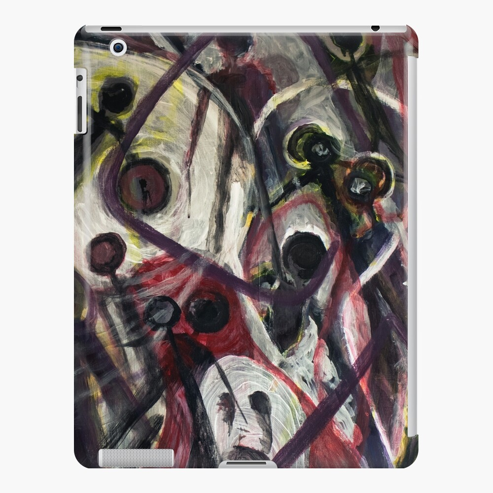 Ghosts and Shadow People iPad Case & Skin