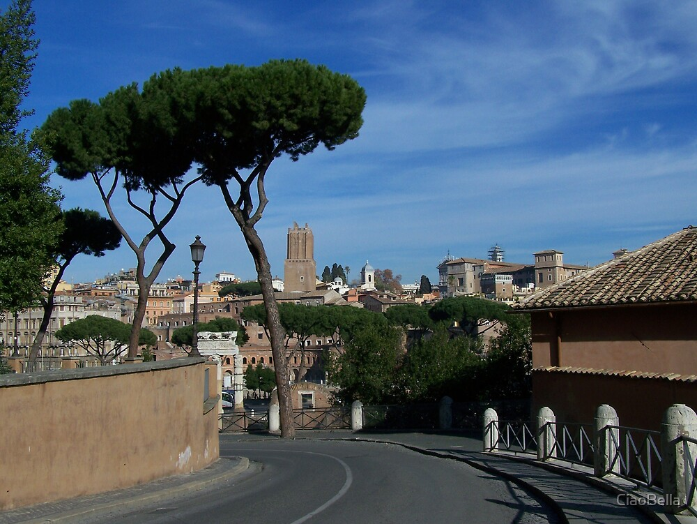 On the way from the forum by CiaoBella