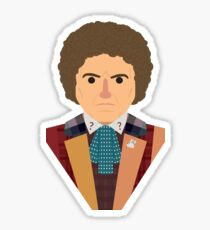 Sixth Doctor  Sticker