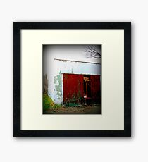 Aged in the Alley Framed Print