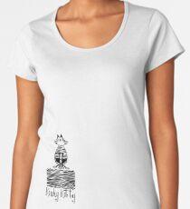KINKY KITTY - Kinky Zebra Women's Premium T-Shirt