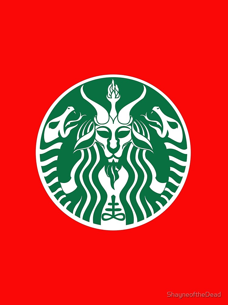 Red Cup Baphomet by ShayneoftheDead