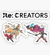 Re:CREATORS - Yuuya Mirokuji VS Shou Hakua Sticker
