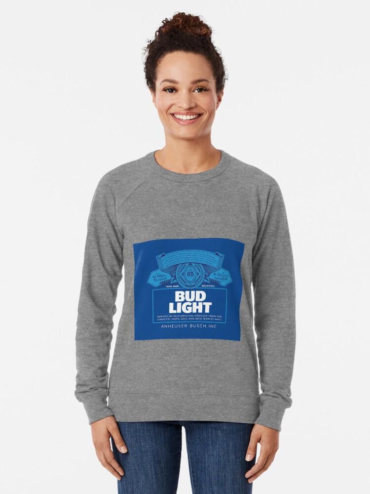 Alternate view of Bud Light Lightweight Sweatshirt