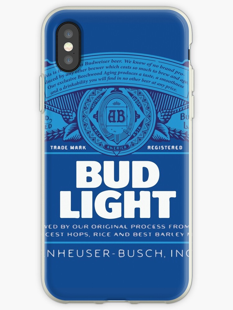 super popular 01068 ade16 'Bud Light' iPhone Case by srucci