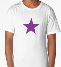 purple star Long T-Shirt