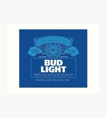 Lámina artística Bud Light
