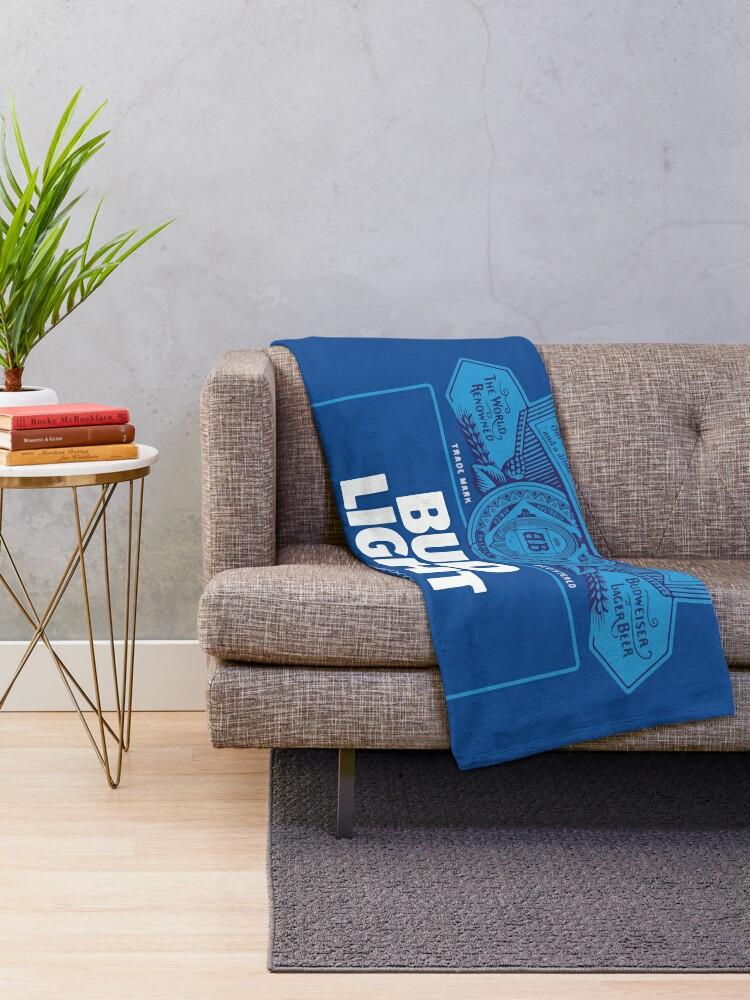 Alternate view of Bud Light Throw Blanket