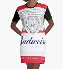 Budweiser Graphic T-Shirt Dress