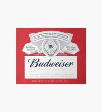 Budweiser Art Board