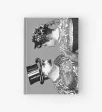 Tattooed Victorian Lovers Hardcover Journal