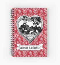 Amor Eterno | Eternal Love Spiral Notebook
