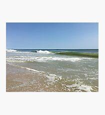 Long Island Waves Photographic Print