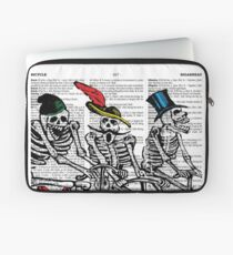 Calavera Cyclists Laptop Sleeve
