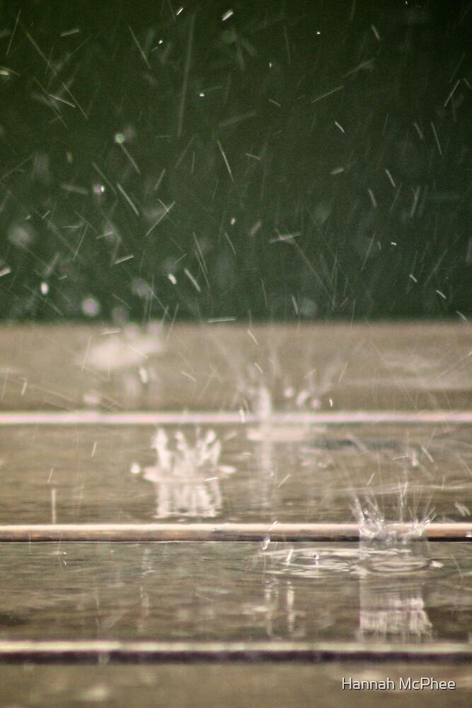 Raindrops by Hannah McPhee
