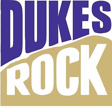 dukes rock, purple and gold by efara1