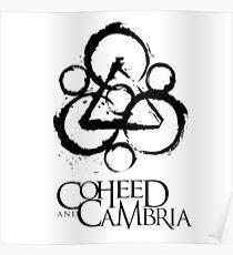 Coheed and Cambria Band Logo Poster