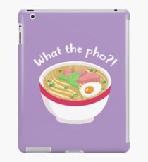 What the PHO?? iPad Case/Skin