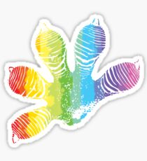 Rainbow Gecko Sticker