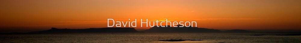 Eigg & Rum sunset 2 by David Hutcheson