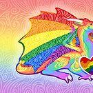Gay Pride Dragon by Markaleb
