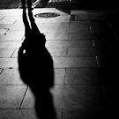 Never alone - Melbourne Australia by Norman Repacholi