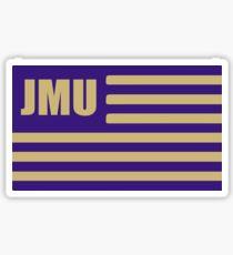 jmu flag Sticker