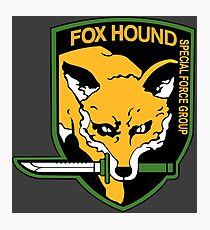 Metal Gear Solid FOXHOUND Photographic Print