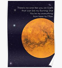 to mars Poster