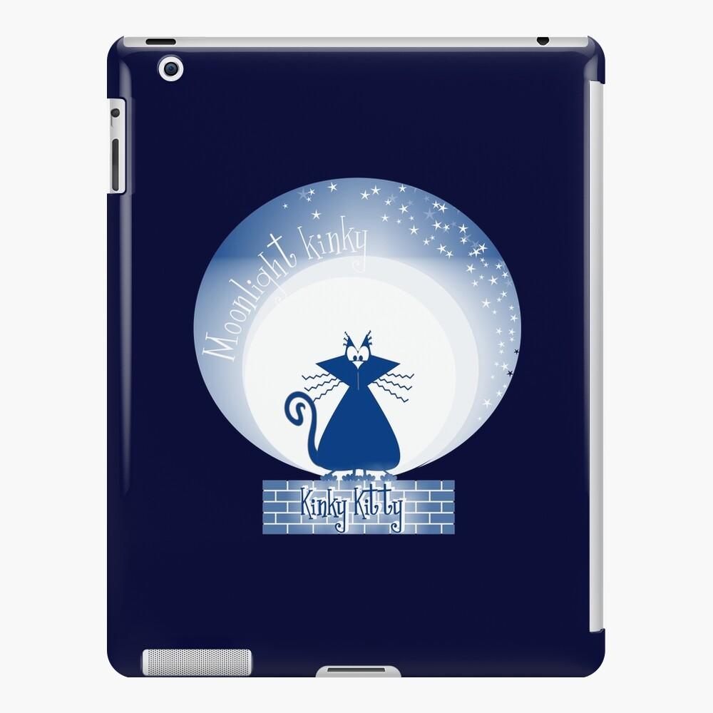 KINKY KITTY - Moonlight Kitty iPad Case & Skin