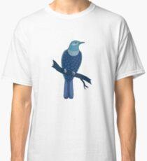 blue bird illustration Classic T-Shirt
