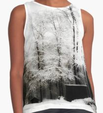 Winter Forest Contrast Tank