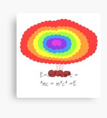 The powerful equation Canvas Print