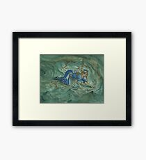 Alice in the Rabbit Hole Framed Print