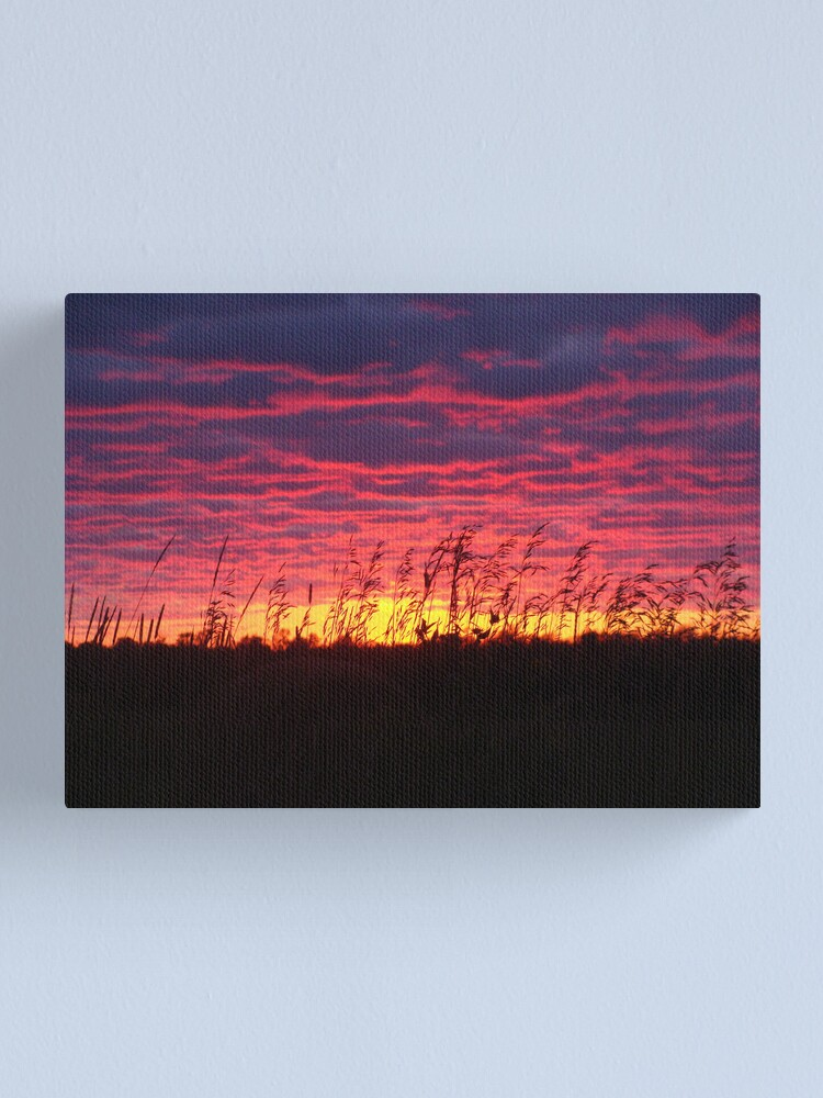 Alternate view of The Art of Ending Canvas Print