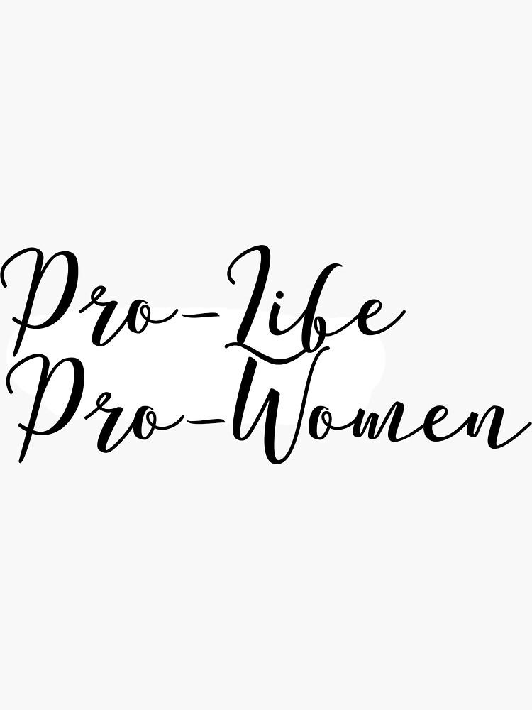 Pro-Leben ist Pro-Frauen von libarrola
