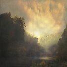 River and Mist by Dirk Wuestenhagen