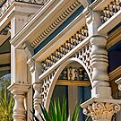 Architectural Detail of a House in the Haight Ashbury District - San Francisco California by Buckwhite