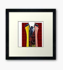 6th Doctor T Framed Print