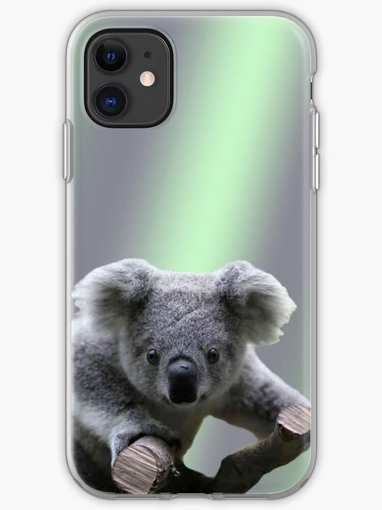 Clinging Koala iphone case