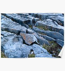 Limestone Pavement Poster