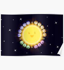 Super Happy Fun Sun Poster