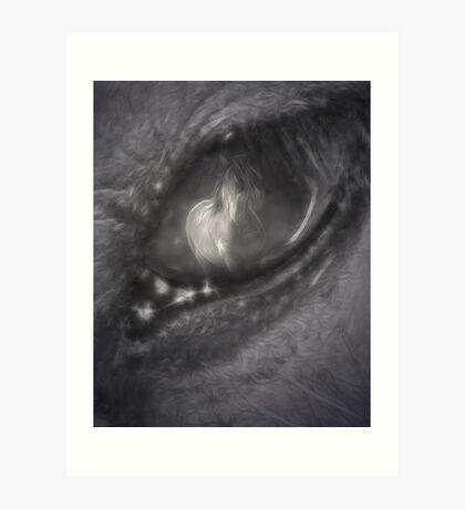 Through The Eye Art Print