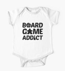 Board Game Addict for Board Game Geeks Kids Clothes