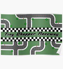 Tiny Chopper Raceway Poster