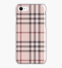 Pink Burberry Inspired Plaid iPhone Case/Skin