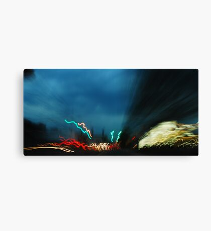 Highway Blender Canvas Print